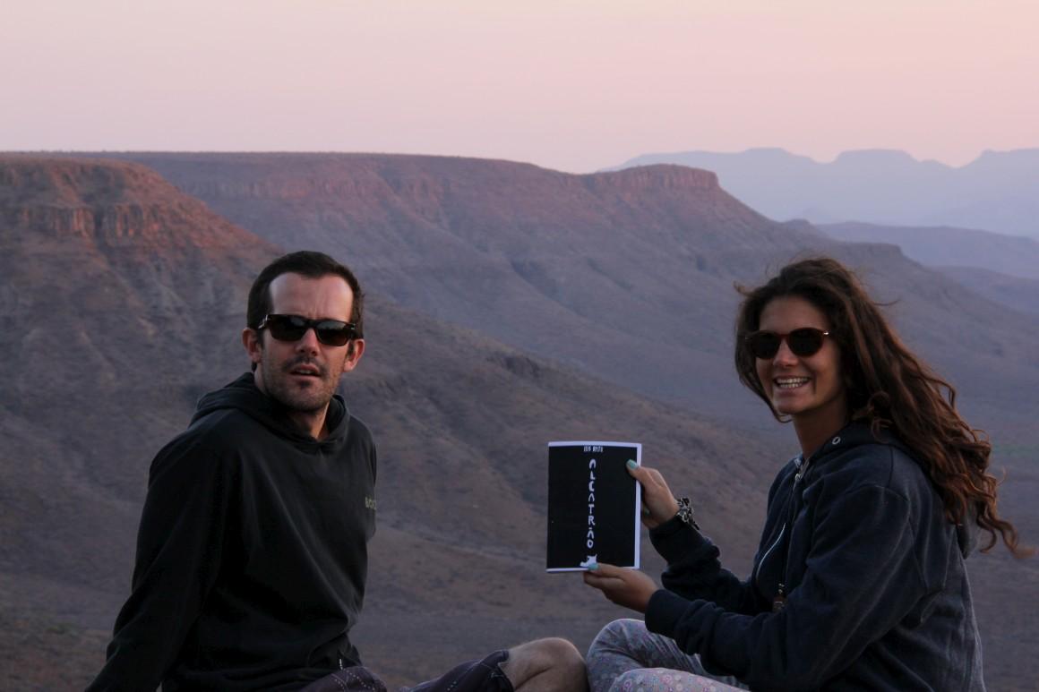 Alcatrão pelo mundo: Na Namíbia
