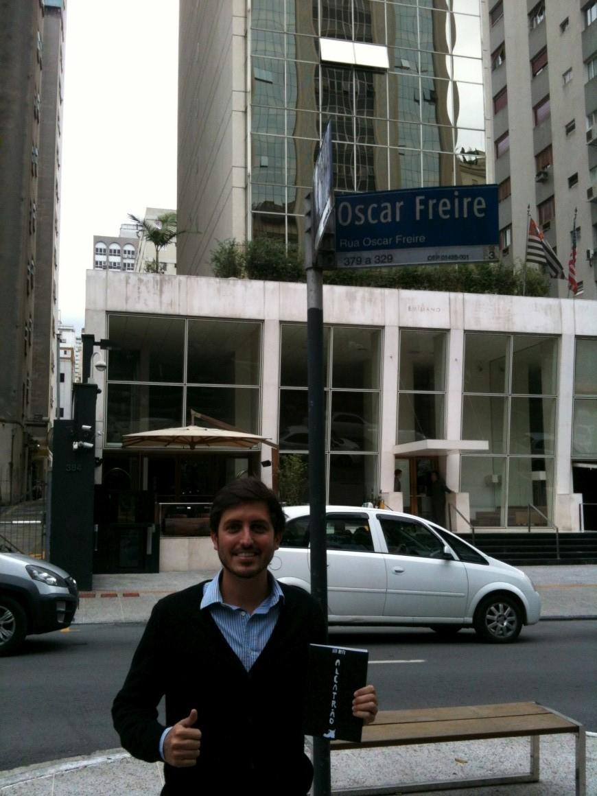 Alcatrão pelo mundo: Pedro em São Paulo