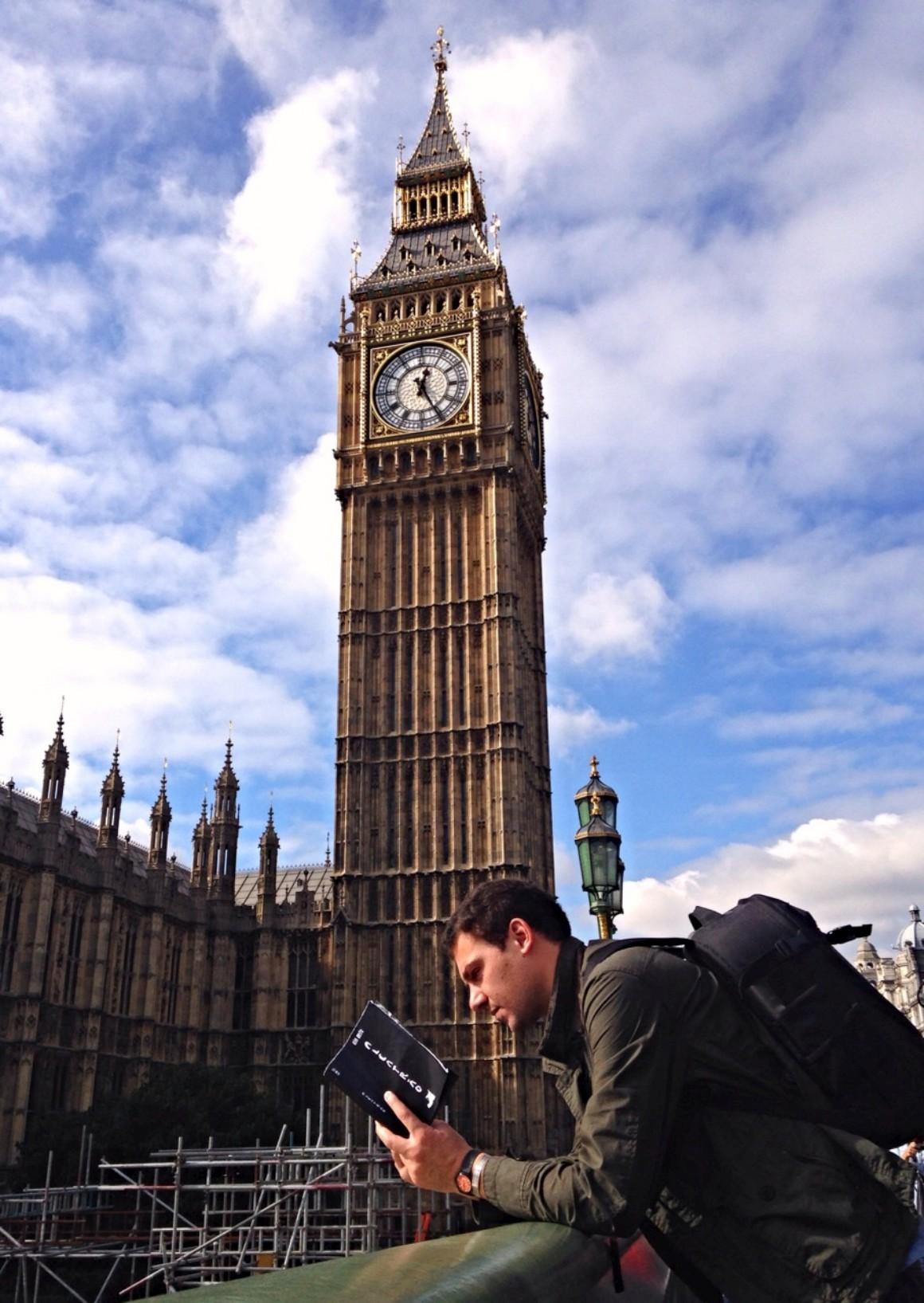 Alcatrão pelo mundo: Tiago em Londres