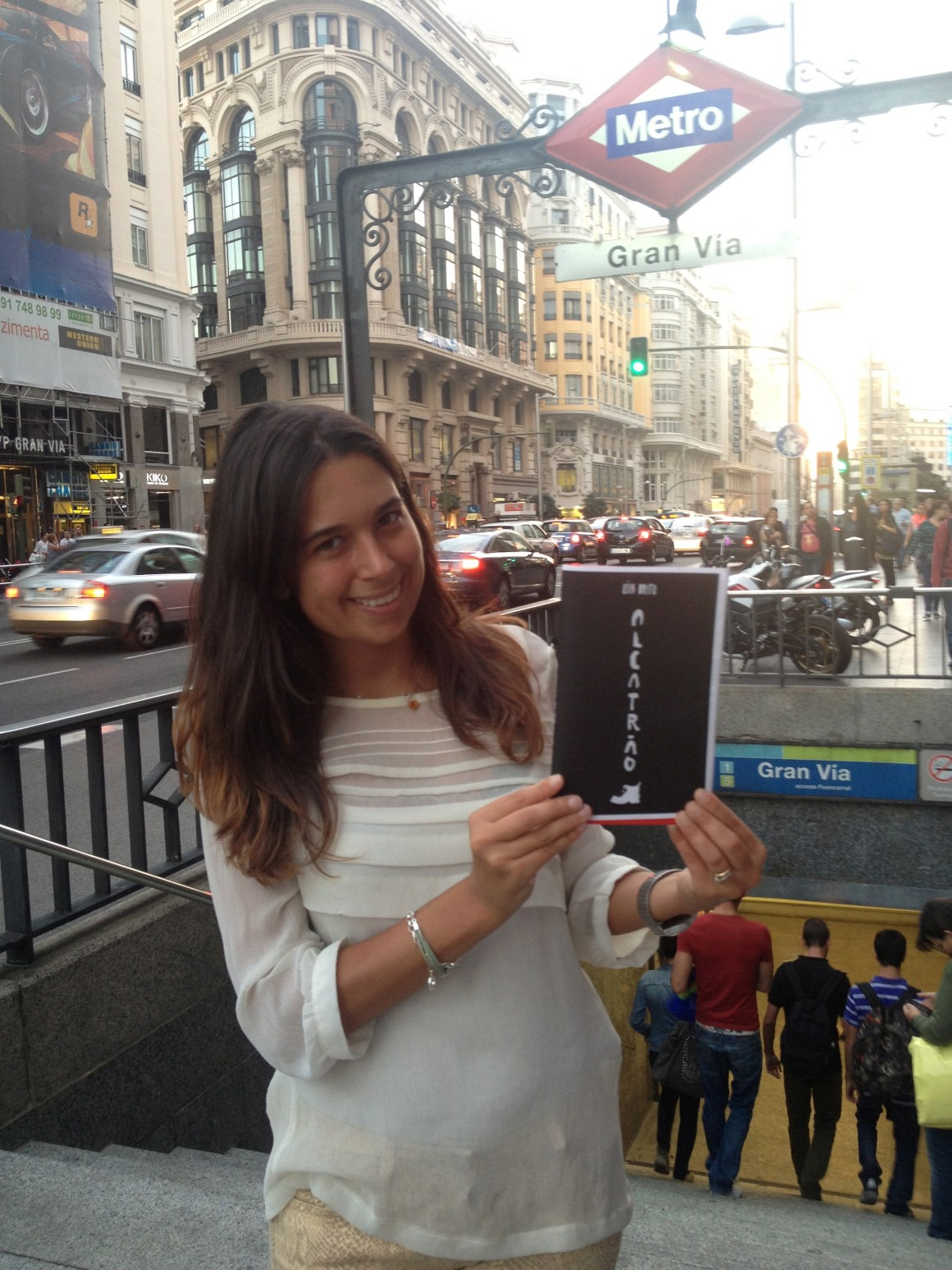 Alcatrão pelo mundo: Rita em Madrid