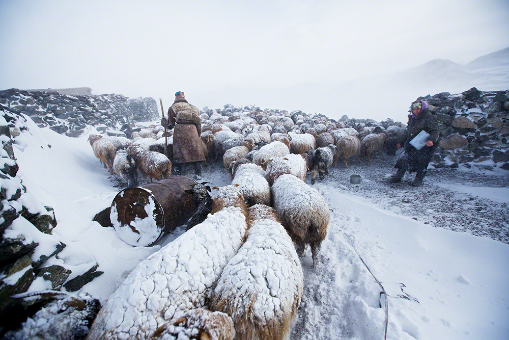 Vanishing & Emerging Cultures, imagem única, menção honrosa: Tariq Sawyer (Suíça), Montanhas Altai da Mongólia