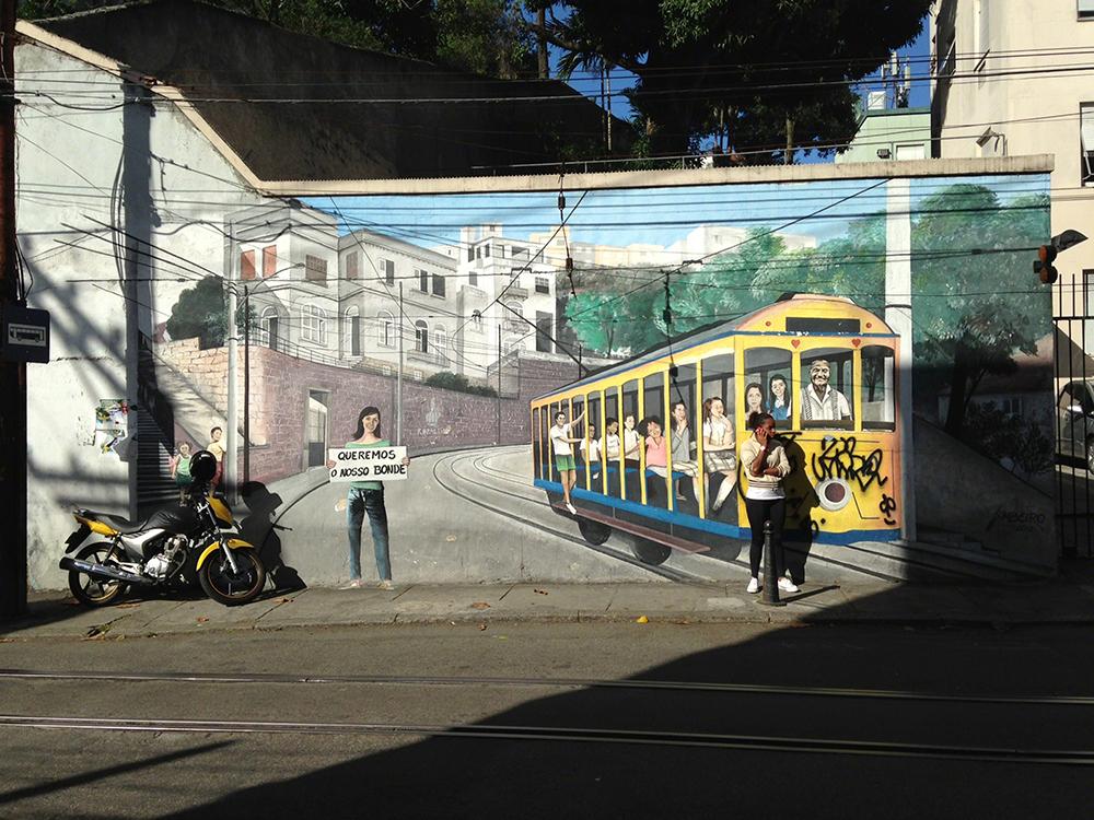 First Shot, vencedor, Stuart Draper (Reino Unido): Santa Teresa, Rio de Janeiro, Brasil - captada com iPhone