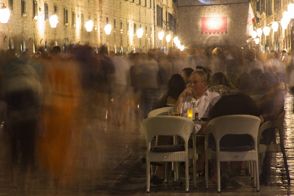 Young Travel Photographer of the Year: Jonathan Rystrøm, 14 anos, da Dinamarca: No The Strada, Dubrovnik, Croácia