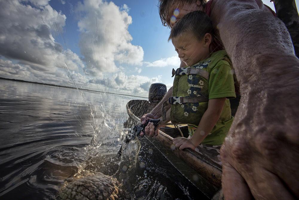 Wild Stories, vencedor (ex-aequo), Johnny Haglund  (Noruega): à caça de aligatores, Louisiana, EUA