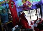 O Natal dentro de um autocarro