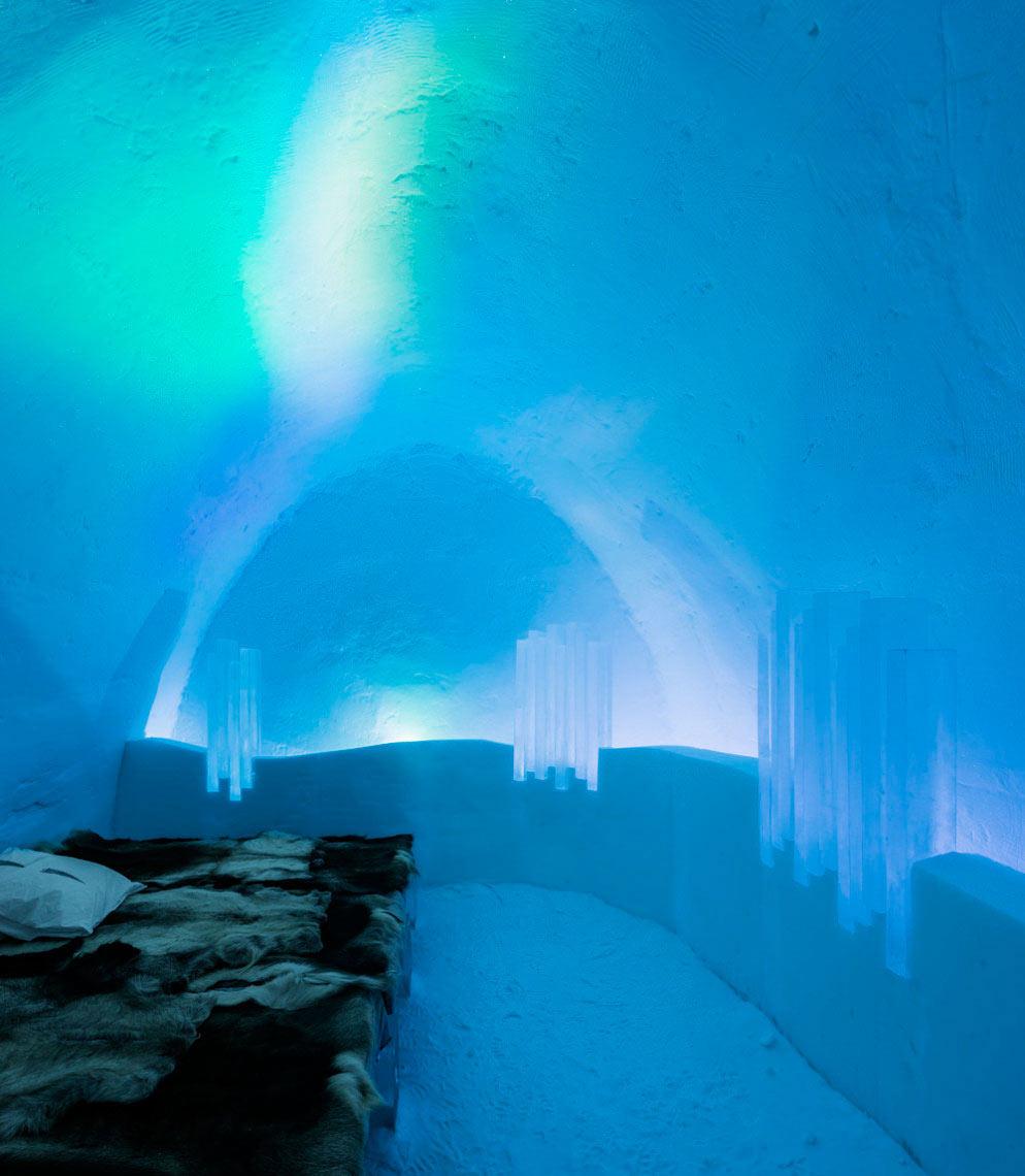 Em 2012/13: Suíte Northern Lights