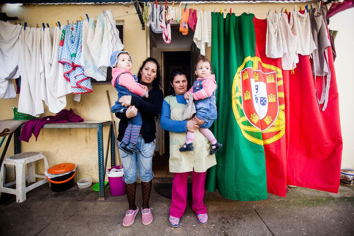Isabel Pereira, 30 anos, mãe solteira