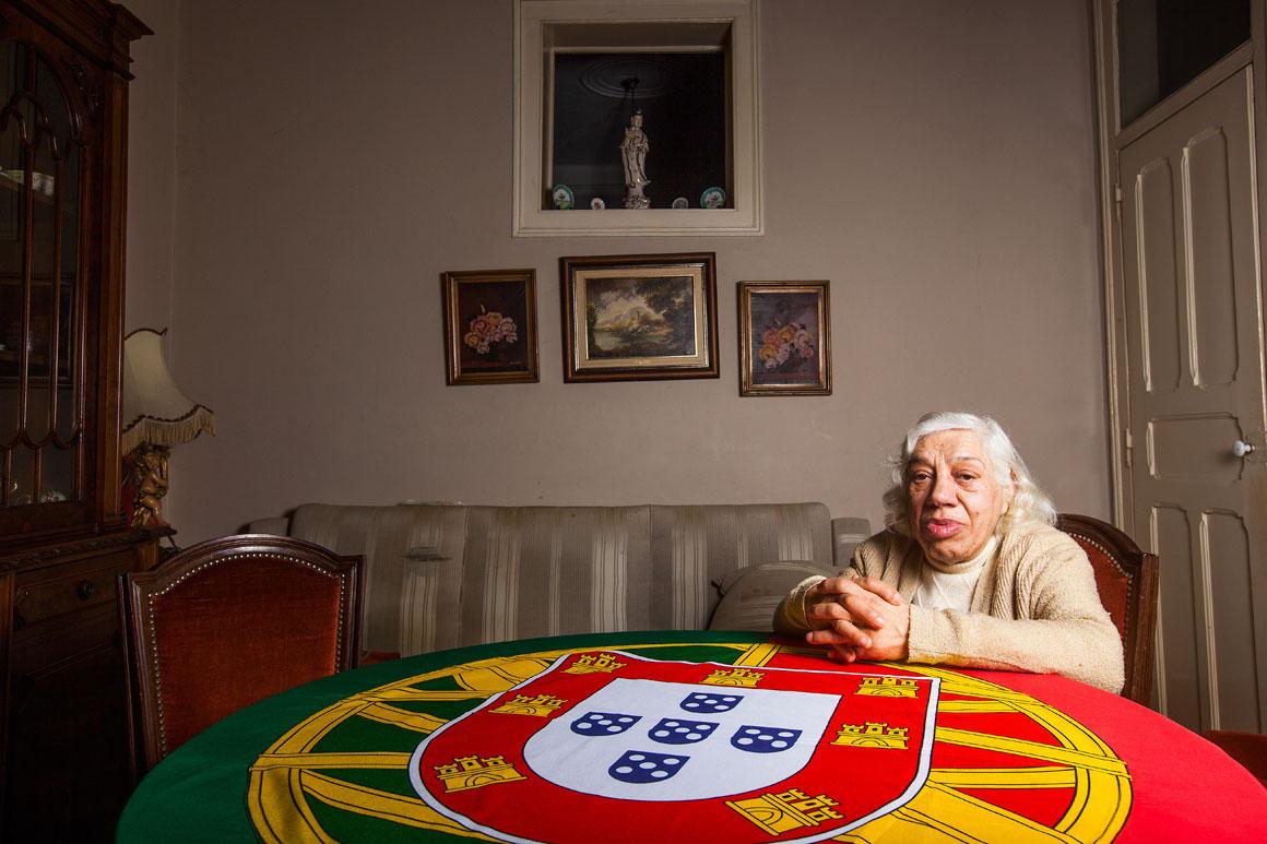 Maria Natália Osório, 82 anos, reformada