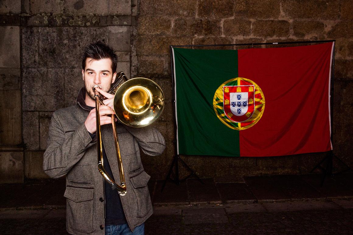 Ricardo Pereira, 24 anos, músico