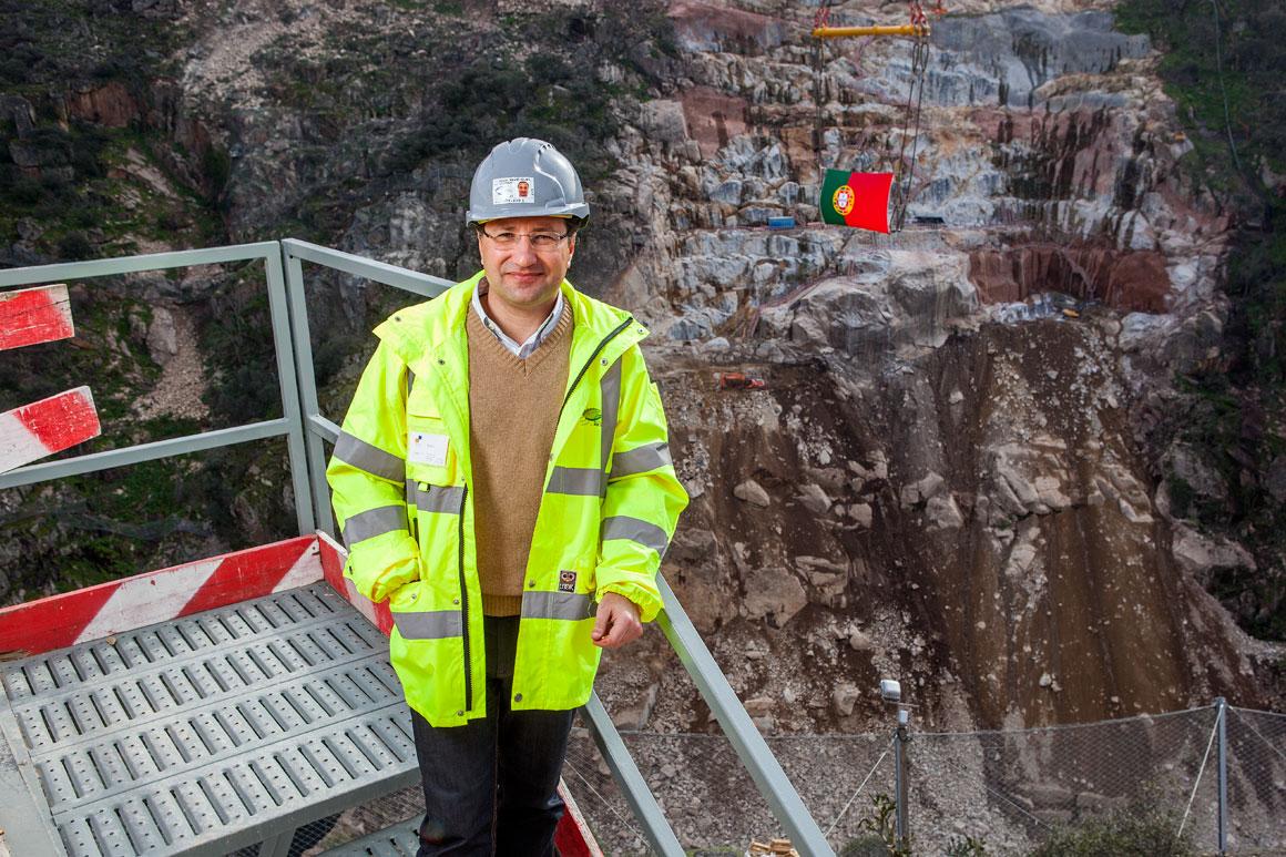 Nuno Henriques, 46 anos, engenheiro, actualmente trabalha na Barragem de Foz-Tua