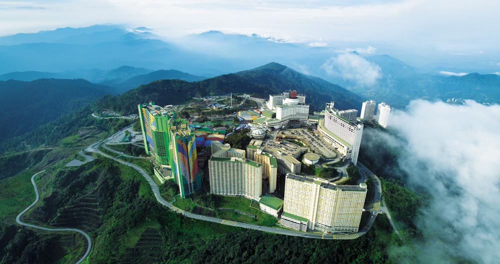 O parque situar-se-á nos luxuosos Resorts World Genting