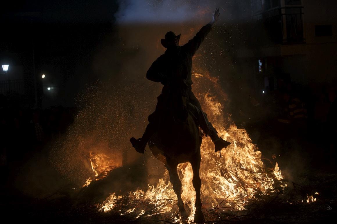 Cavalgar o fogo