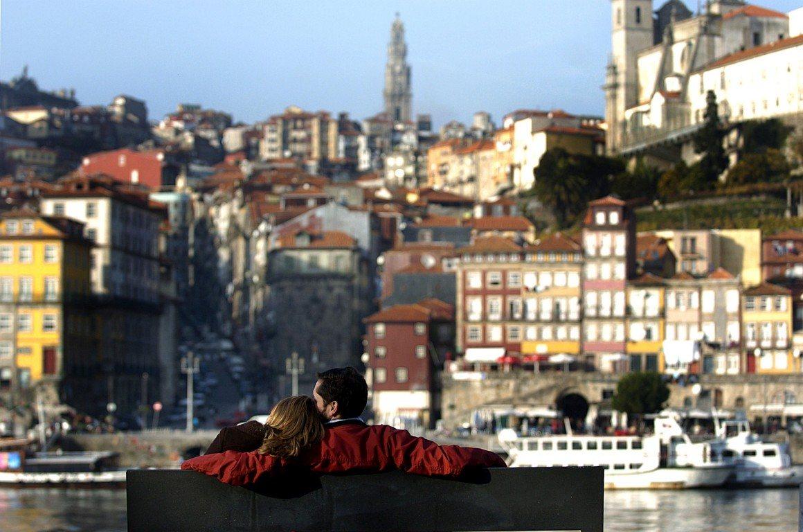Porto, visto a partir de Gaia