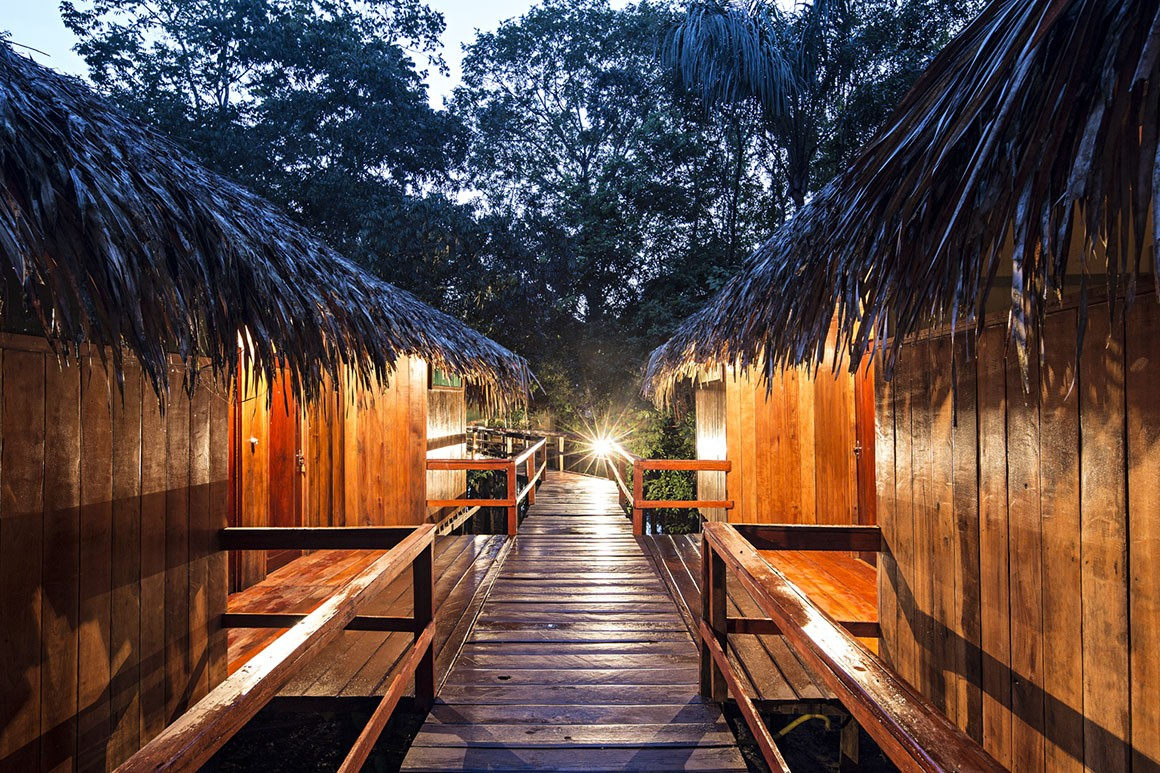 Juma Amazon Lodge, hotel na selva