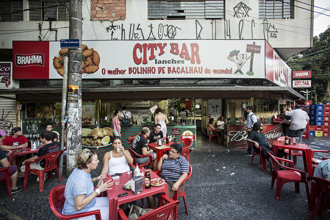Campinas. City Bar, melhor bolinho de bacalhau da cidade