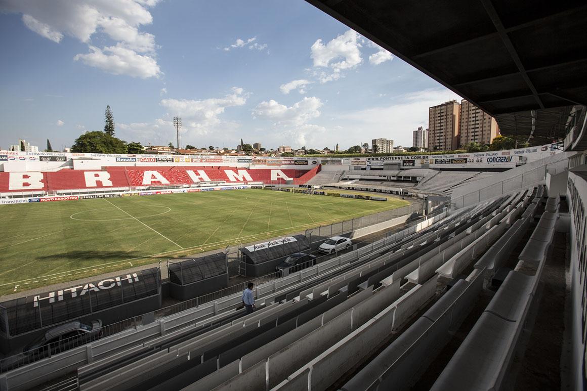 Campinas. Estádio Ponte Preta