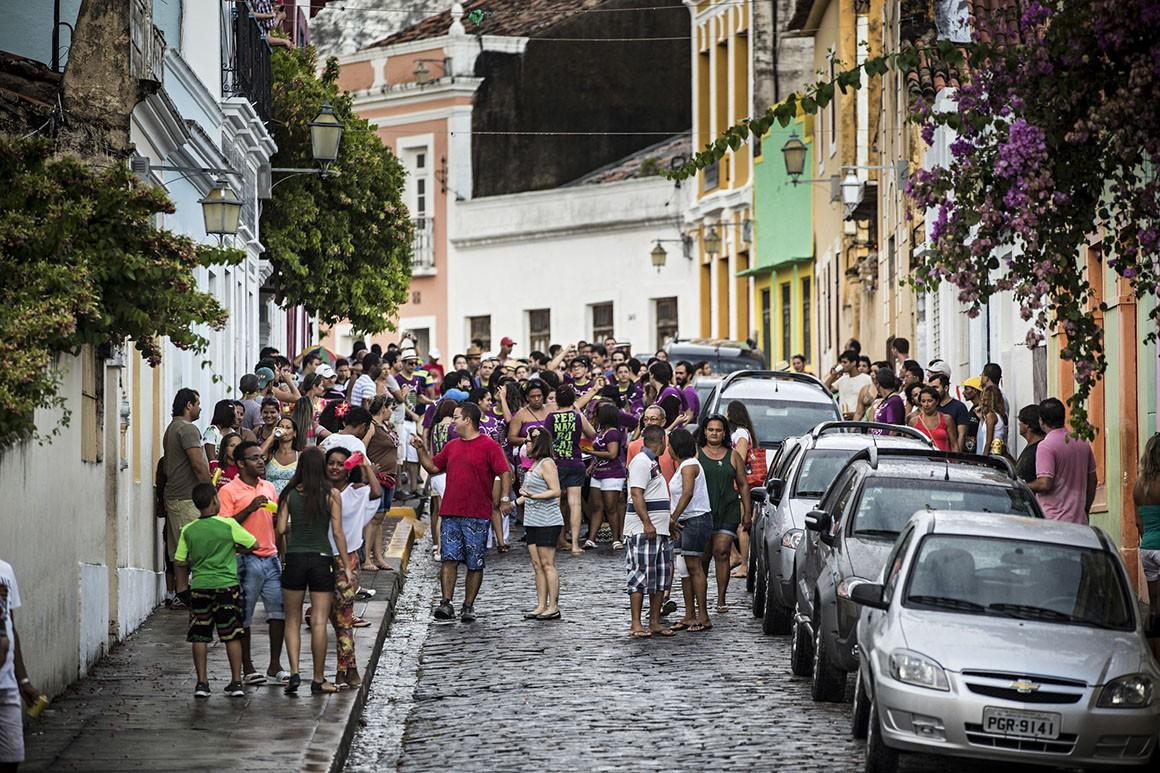Recife - Olinda - preparativos para o Carnaval