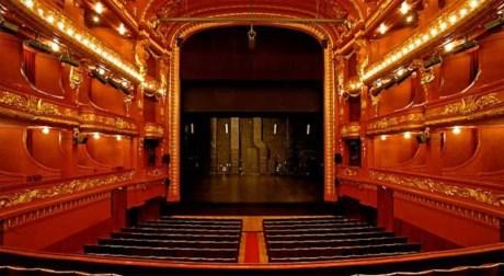Sala Principal do Teatro Nacional de São João, no Porto