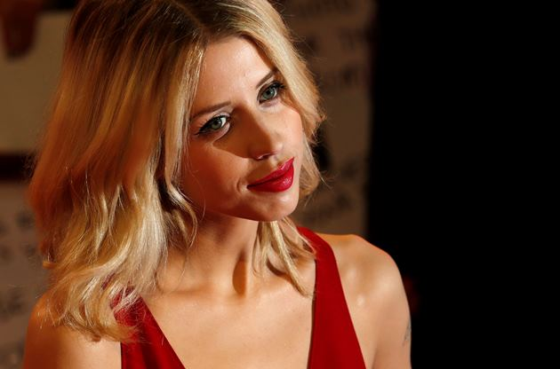 Peaches Geldof na estreia europeia do filme
