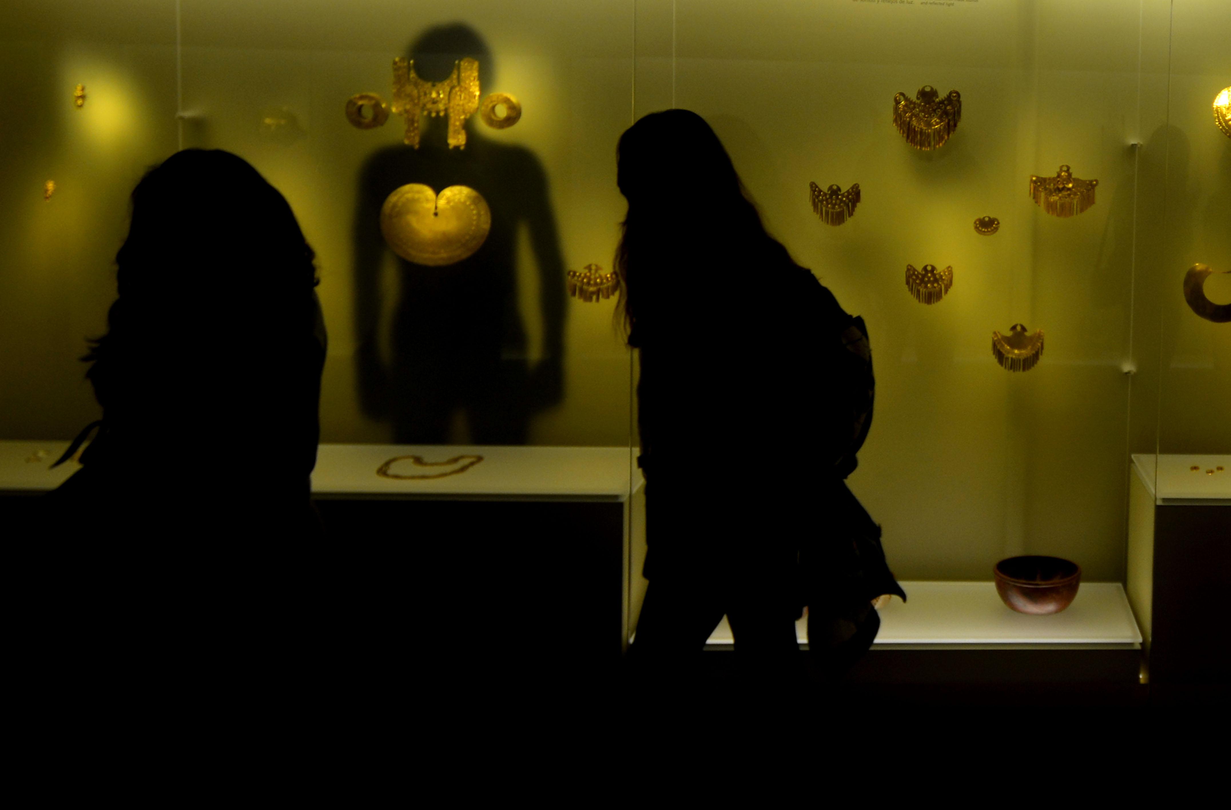 O ouro de Bogotá