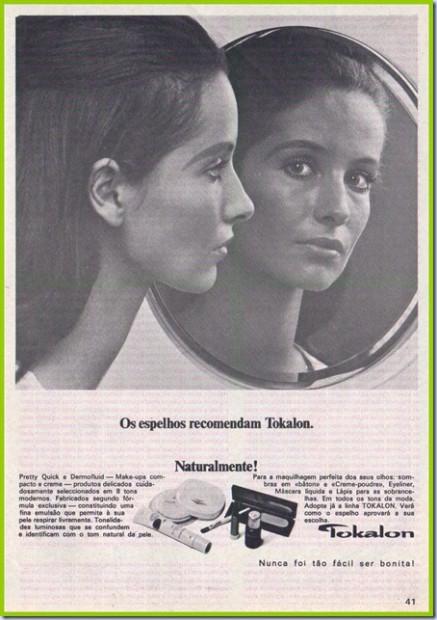 Publicidade ao creme Tokalon