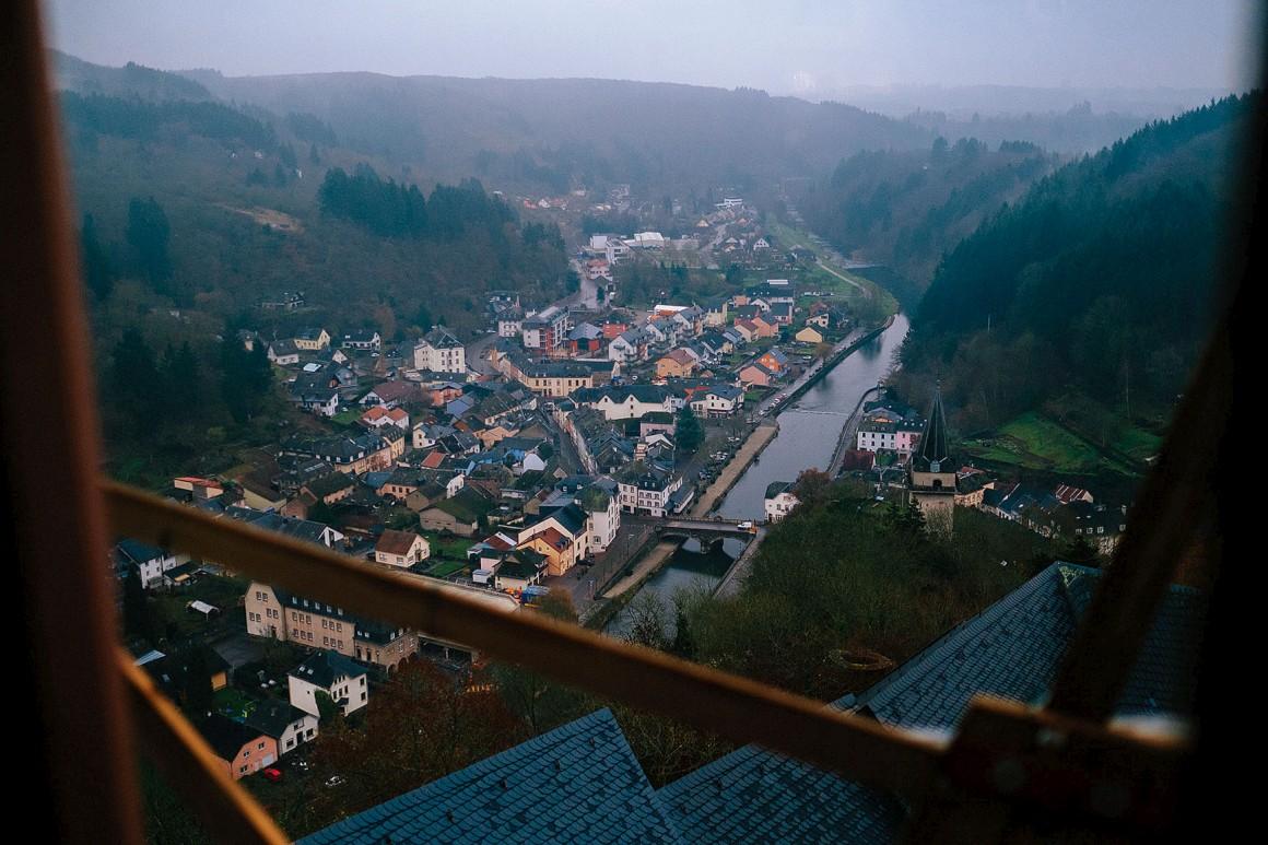 Vista do Luxemburgo desde o castelo