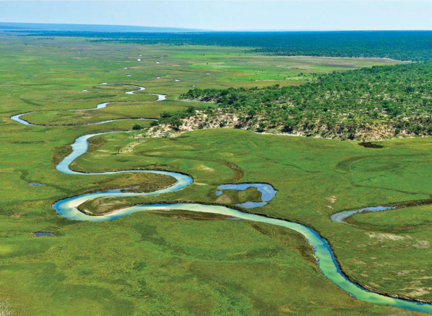 Finalista: Bacia do Okavango, Cuando-Cubango