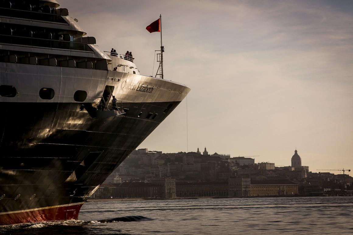 Três 'rainhas' levam Lisboa a bater recorde de turistas de cruzeiros