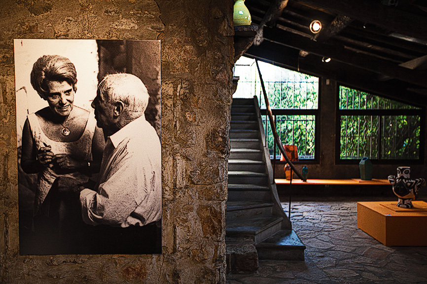 Estúdio Picasso em Vallauris