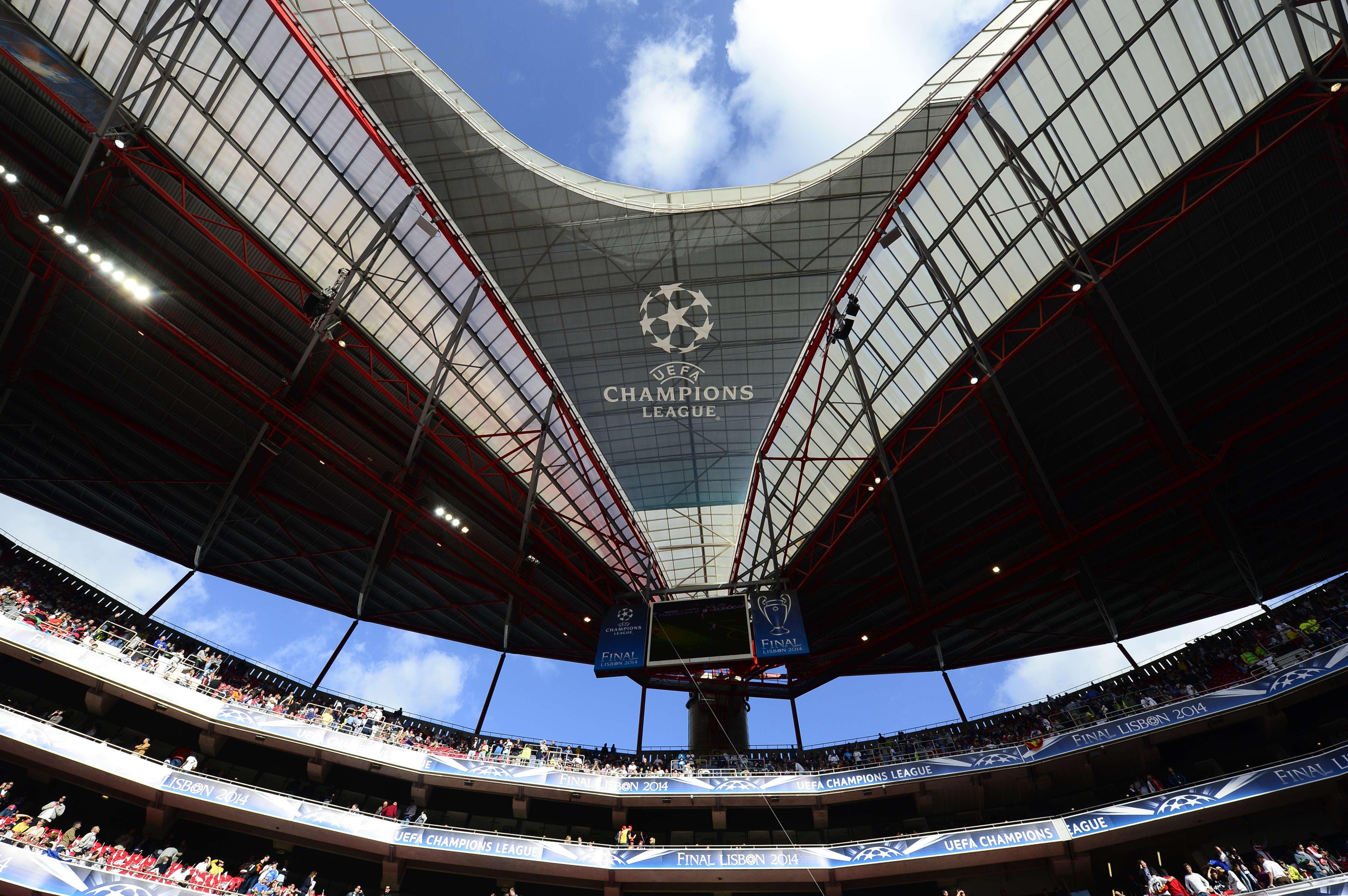 Estádio da Luz recebe a final