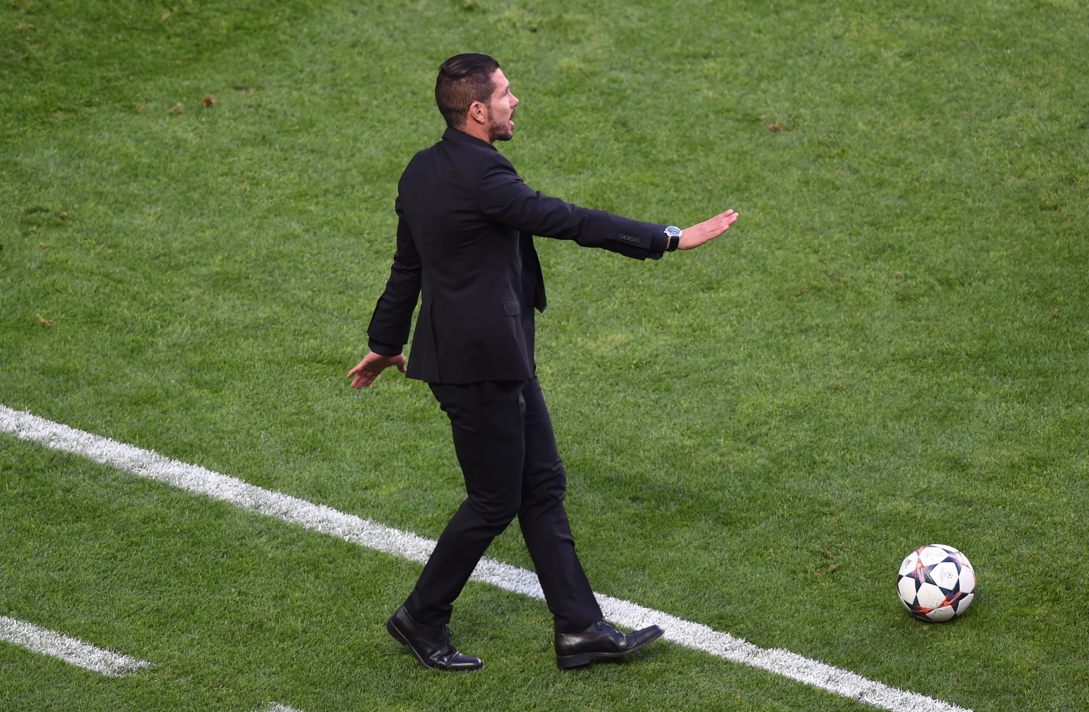 Diego Simeone, treinador do Atlético de Madrid