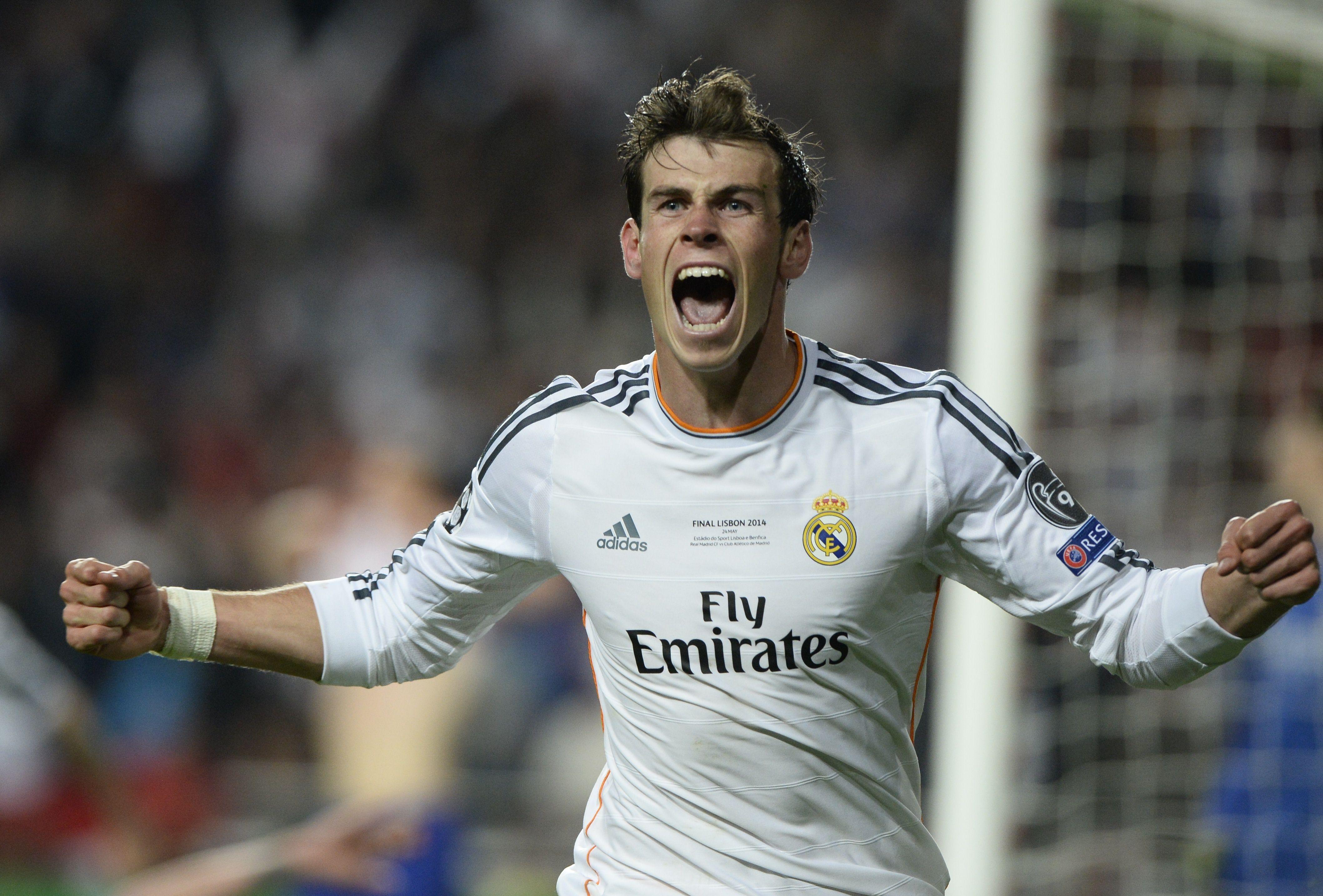 Gareth Bale festeja golo