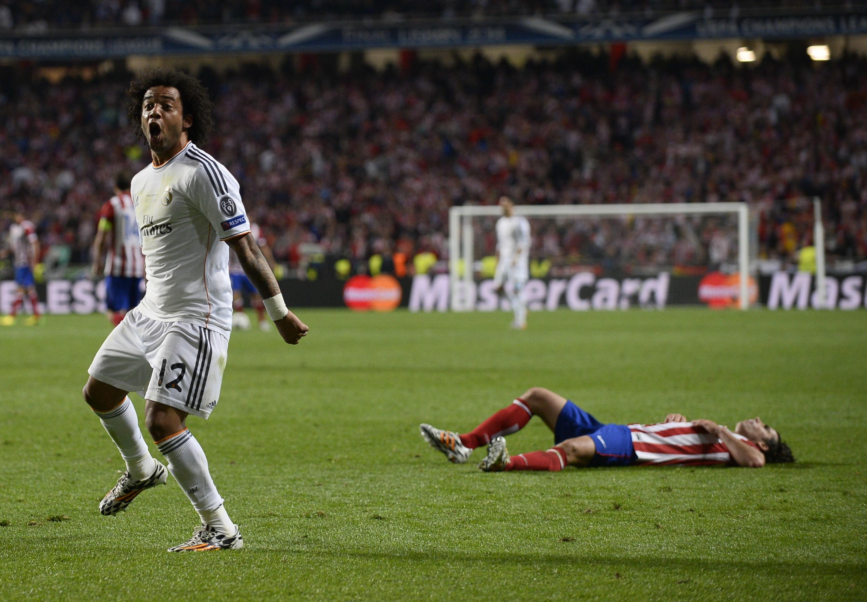 Marcelo e mais um golo