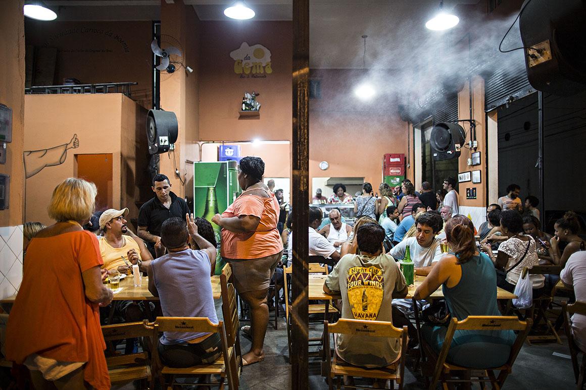 Bar da Gema, na Tijuca, um bar novo