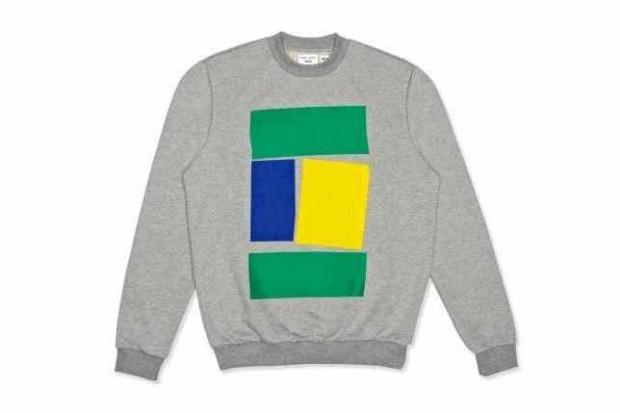 A loja online Yoox.com juntou dez designers de dez países para criarem camisolas inspiradas no seu país de origem. A edição é limitada. Brasil, por Barbara Casasola, 80 euros