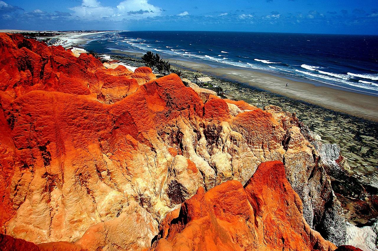 Dezembro de 2004. Praia das Sete Fontes, Fortaleza