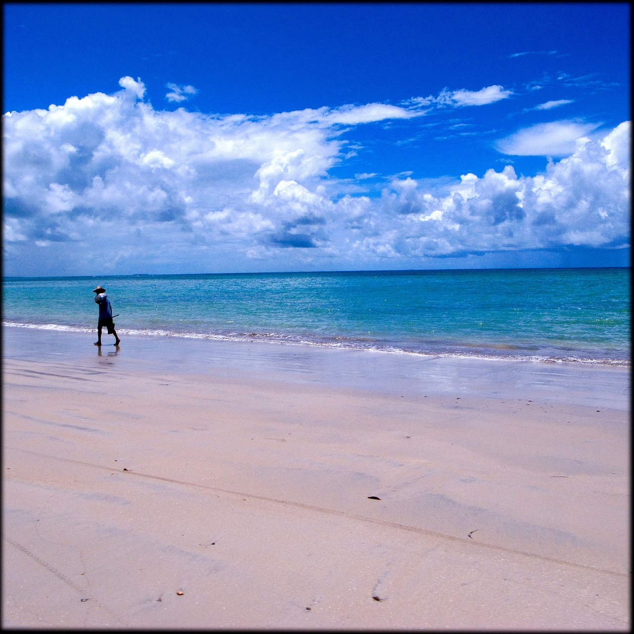 Abril de 2008. Praia de Tamandaré, Recife