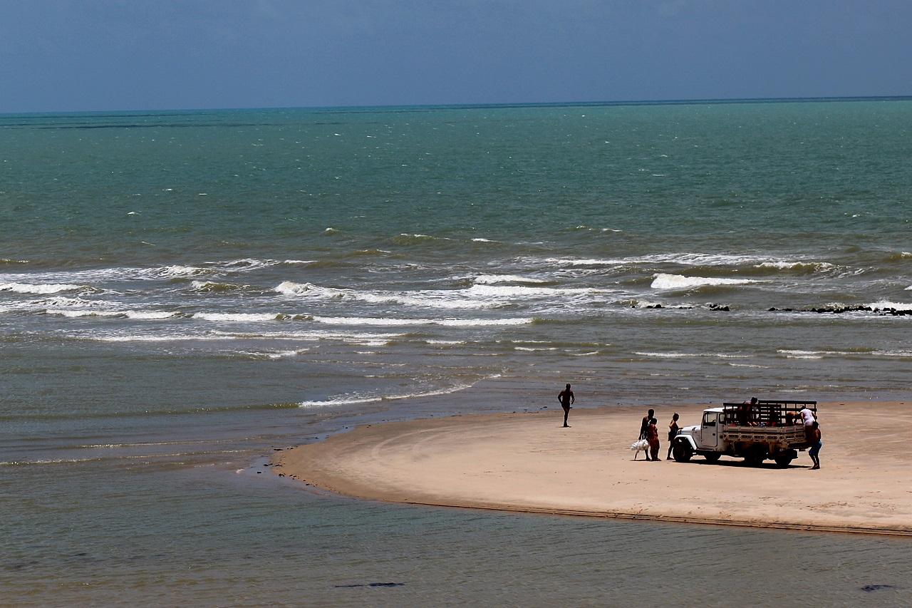 Março de 2010. Canoa Quebrada, no Ceará