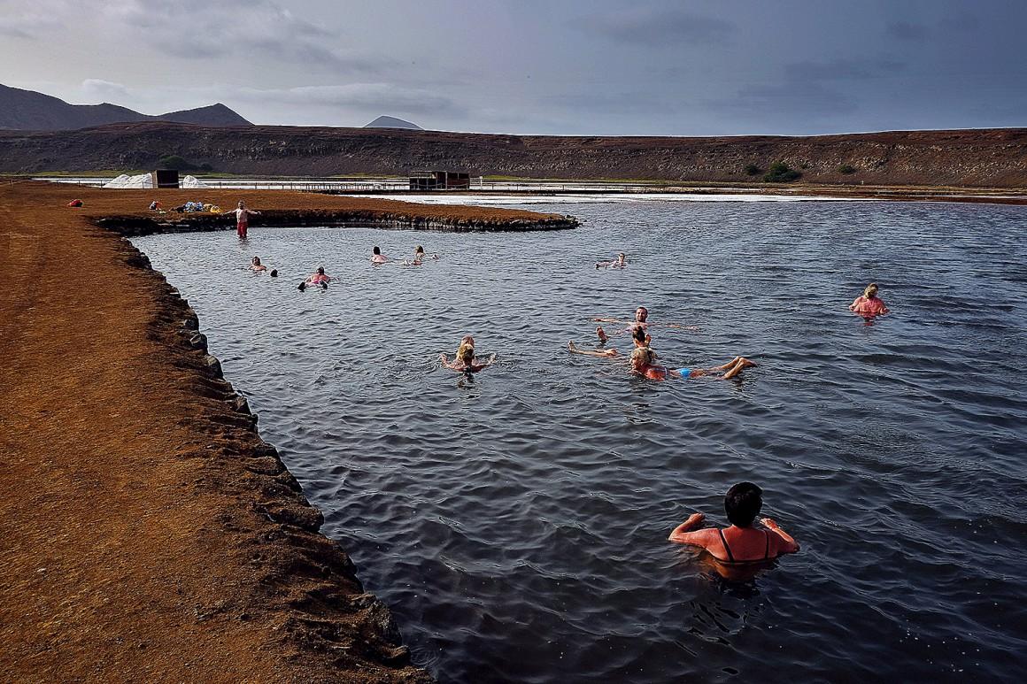 As salinas de Pedra de Lume são uma das principais atracções da ilha do Sal