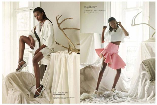 Sapatos portugueses desfilam na Vogue italiana
