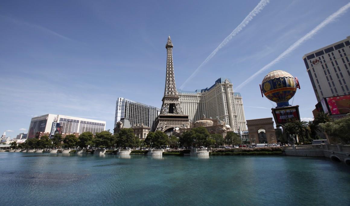Paris, versão EUA? Sim, é o Paris Hotel em Las Vegas