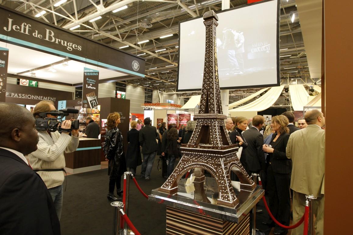 A mais saborosa da lista: é que esta é uma escultura em chocolate. Foi uma atracção do Salon du Chocolat de 2008 em Paris.