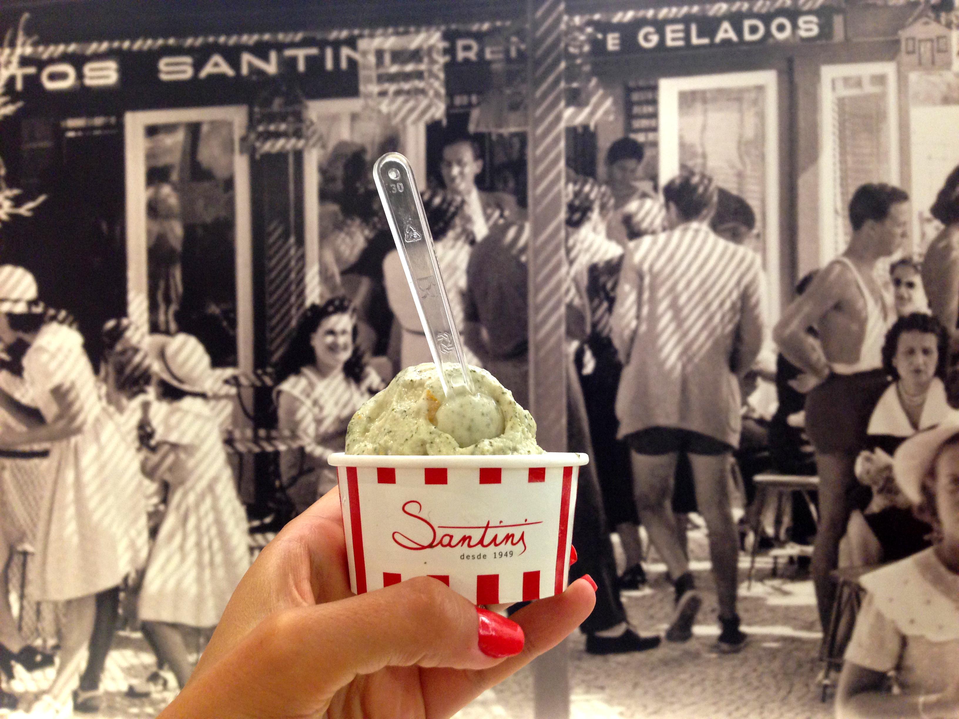 O novo sabor dos gelados Santini veio a navegar pela net