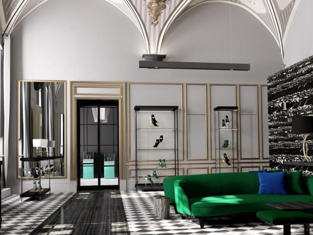 Nova loja da marca italiana Aquazzura vai ter decoração portuguesa
