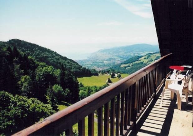 Vista do Hôtel de Sonloup, em Montreux, onde vai abrir a clínica