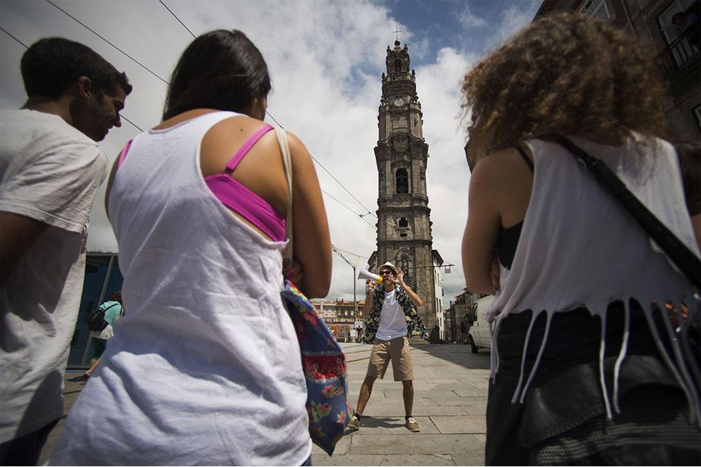 O Porto pode ser um teatro frenético
