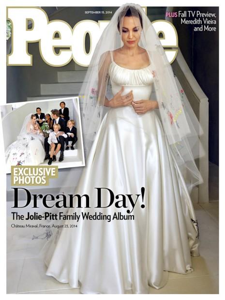 Já há fotos do casamento Jolie-Pitt