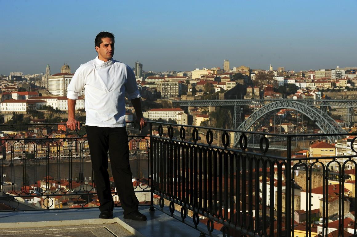 O chef Ricardo Costa