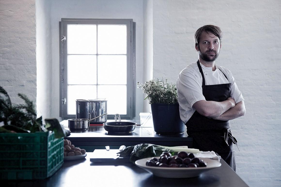 René Redzepi, aqui fotografado no seu restaurante Noma, é o fundador do MAD, que acontece em Copenhaga
