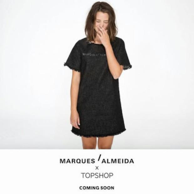 Dupla portuguesa Marques'Almeida cria colecção para a britânica Topshop